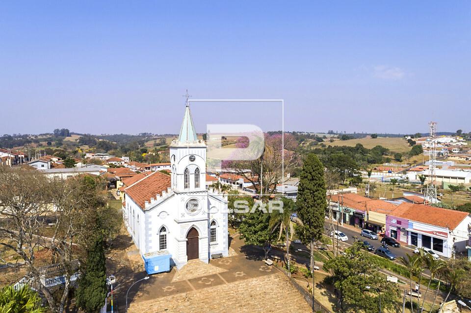 Vista de drone da Paróquia Divino Espírito Santo