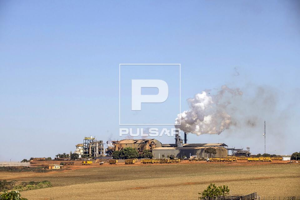 Usina produtora de etanol e açúcar
