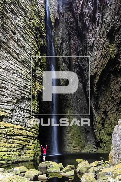 Cachoeira da Fumacinha - Rio Una - Parque Nacional da Chapada Diamantina