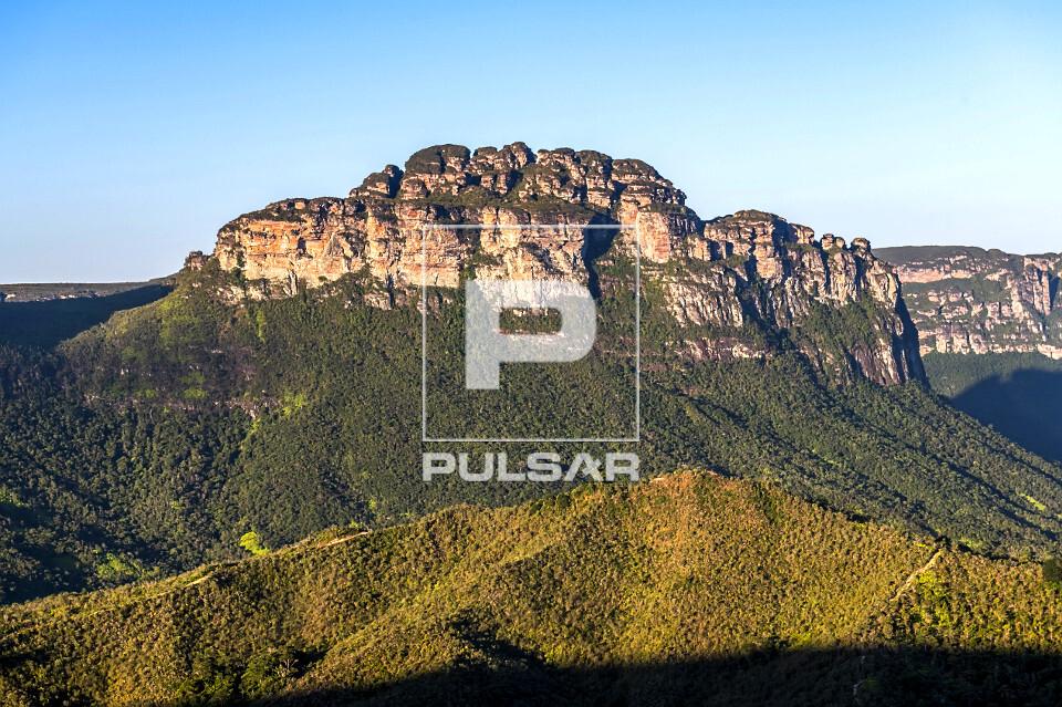 Vista do Morro do Castelo no Vale do Pati - Parque Nacional da Chapada Diamantina