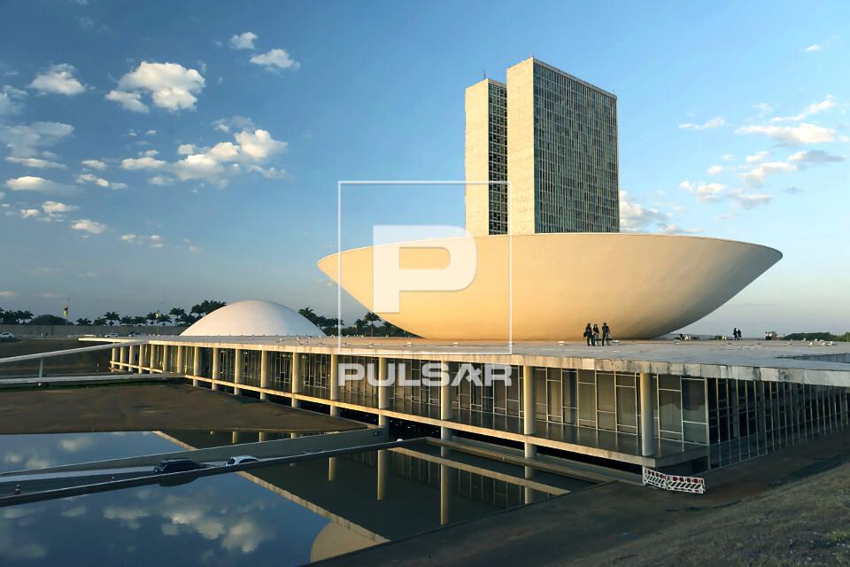 Congresso Nacional - sede do Poder Legislativo - projeto de Oscar Niemeyer - USO SOMENTE MEDIANTE CONSULTA A F