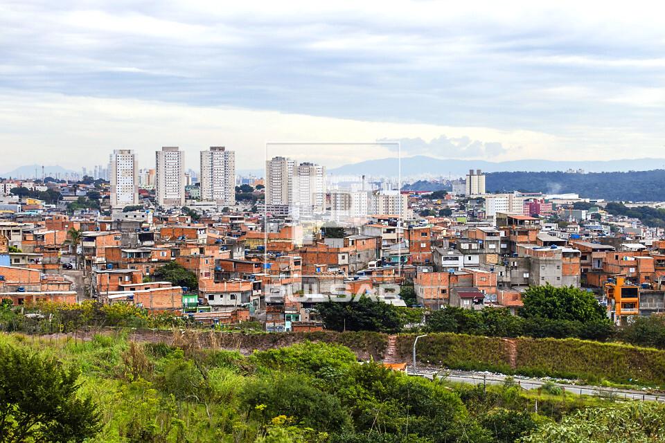 Moradias e prédios no Bairro de São Mateus