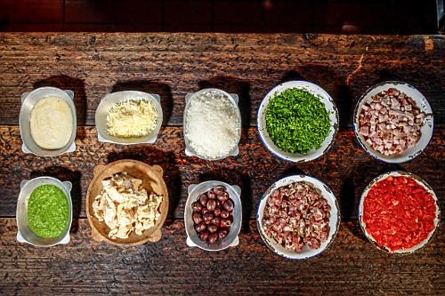 Ingredientes usados na cozinha mineira
