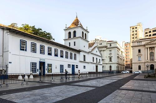 Museu Padre Anchieta no Pátio do Colégio - local da fundação da cidade de São Paulo em 1554