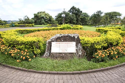 Jardim Poty Lazzarotto na parte superior do Parque Tanguá - inaugurado em 1996 - bairro do Pilarzinho