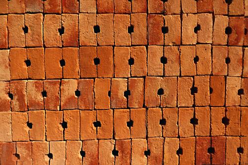 Fabricação de tijolos