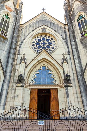 Fachada da Catedral Metropolitana de Sant'Ana