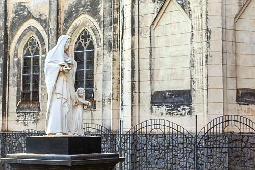 Imagem de Sant'Ana na Catedral Metropolitana