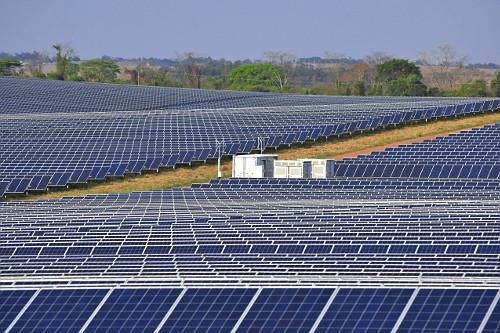 Parque solar Dracena I , II e IV