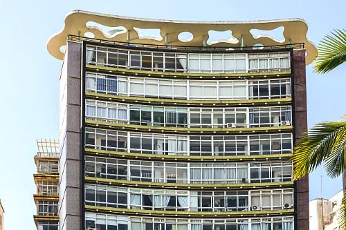 Edifício residencial Parque Verde Mar - idealizado e construído por João Artacho Jurado - década de 1950